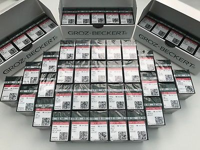 Groz Beckert Industrial Sewing Machine Needles DPX5 R Ace de cusut GROZ-BECKERT